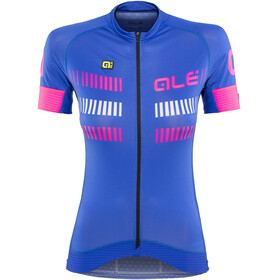 Alé Cycling Graphics PRR Strada Short Sleeve Jersey Women blue light-fluo pink-white